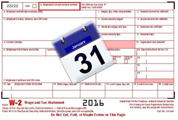 form w-2 due date